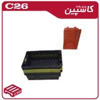 پالت پلاستیکی کد c26