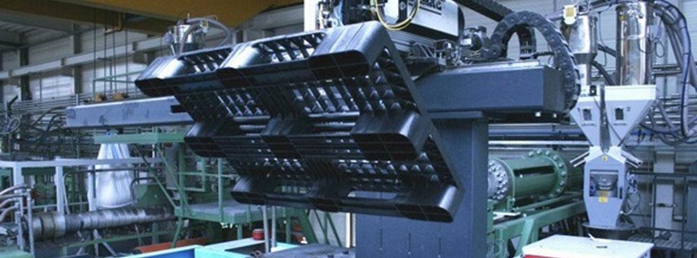 تولید مکانیزه پالت پلاستیکی