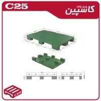 پالت پلاستیکی کد c35